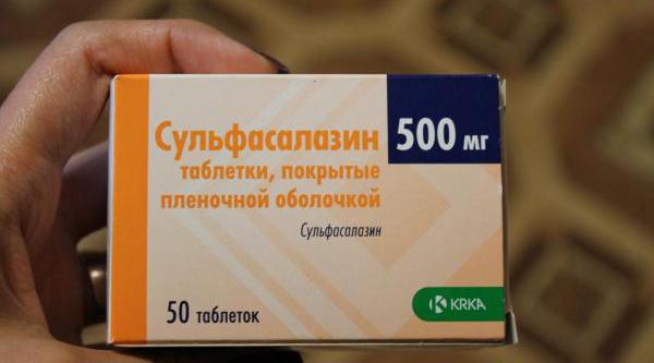 Сульфасалазин — инструкция по применению, аналоги, отзывы при ревматоидном артрите