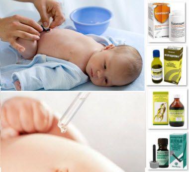 Мокнущий пупок у новорожденных: лечение и профилактика омфалита