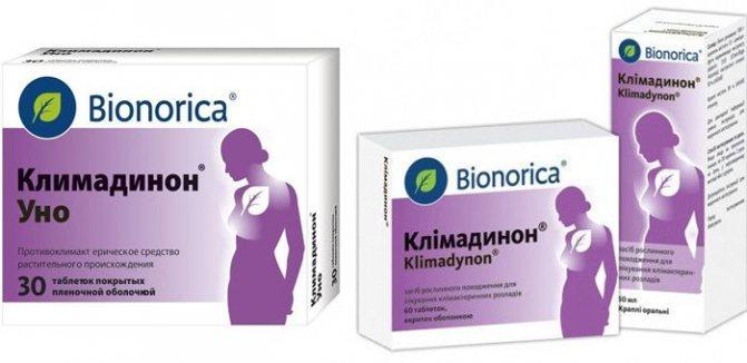 Капли и таблетки климадинон: инструкция по применению, цены и отзывы