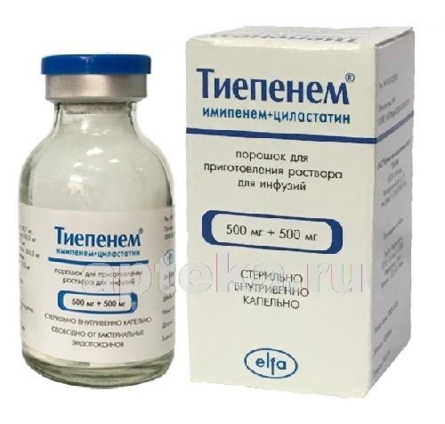 Особенности применения антибиотика «имипенем»