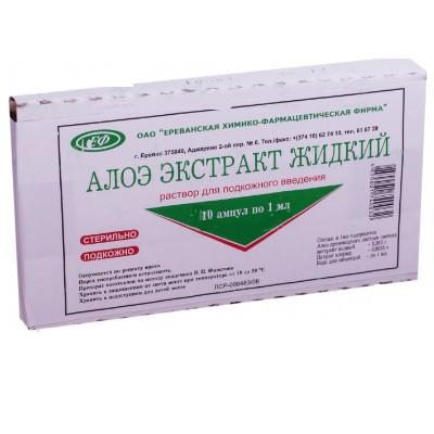 Алоэ (уколы): инструкция по применению, лечебные свойства, противопоказания, отзывы
