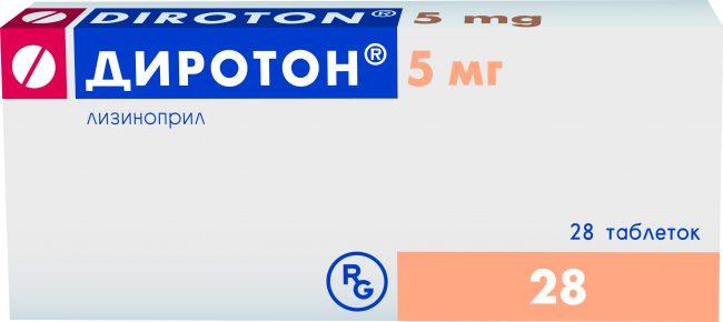 Аналоги таблеток диротон