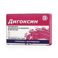 Как и от чего принимают препарат дигоксин в таблетках и ампулах - состав, противопоказания, аналоги и цена