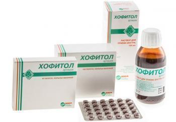 Хофитол: инструкция по применению для детей и взрослых, аналоги лекарства