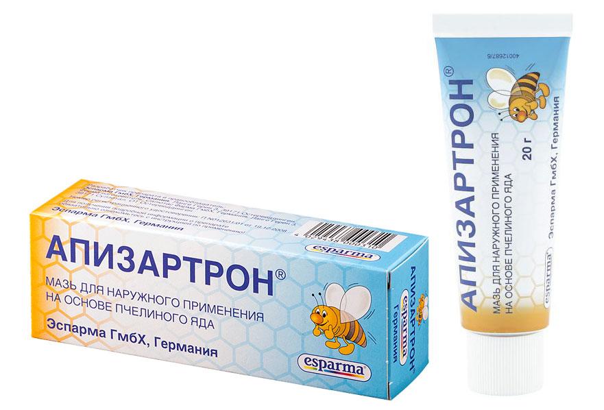Апизартрон: мазь, крем или гель с пчелиным ядом