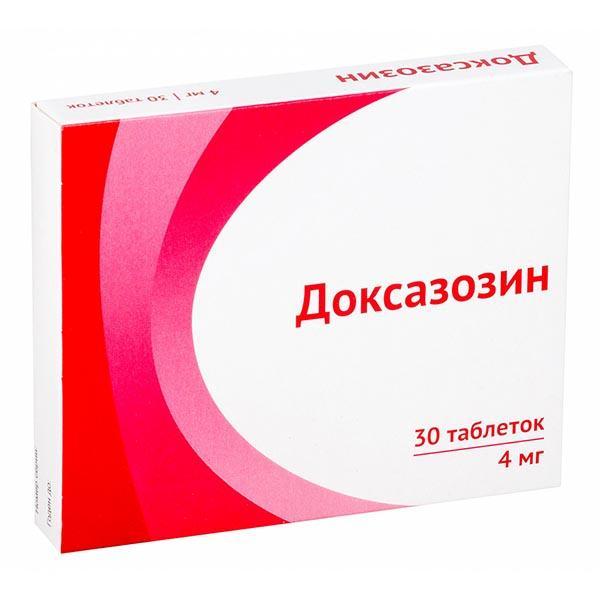 Показания и инструкция по применению препарата доксазозин