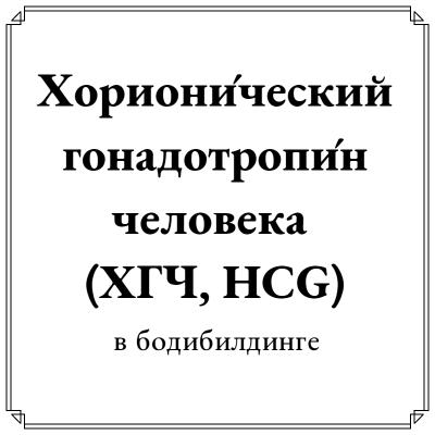 Хорионический гонадотропин инструкция для мужчин и женщин