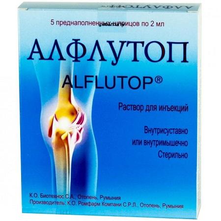 Аналоги препарата алфлутоп