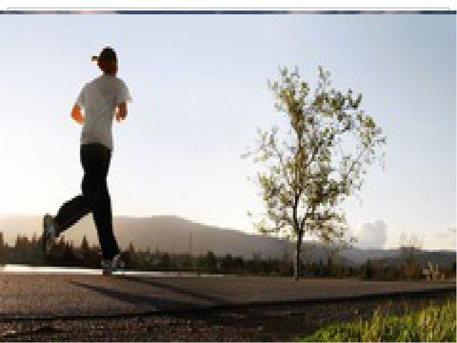 Исследовательская работа:«влияние занятия оздоровительного бега на здоровье человека».
