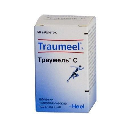 Траумель с: подробное описание гомеопатическоно препарата, от чего помогает
