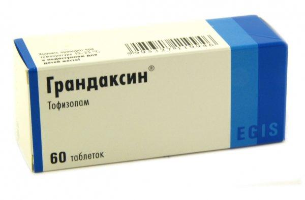 Инструкция по применению грандаксина и отзывы о препарате