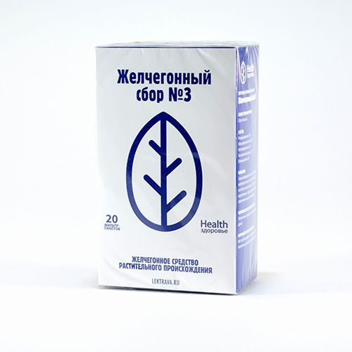 Желчегонный сбор №3 инструкция по применению, отзывы и цена в россии