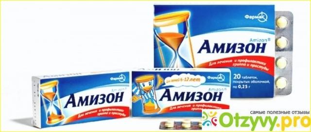 Амизон — инструкция по применению таблетки, аналоги, отзывы