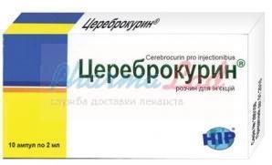 Цереброкурин: инструкция по применению, отзывы, цена