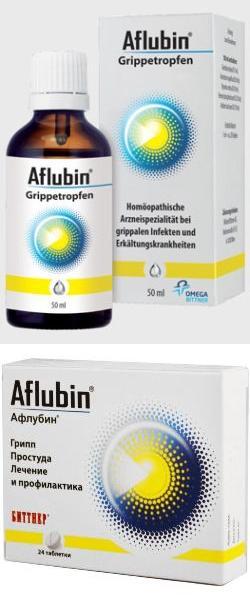 Афлубин: инструкция по применению таблеток, цена, отзывы, аналоги