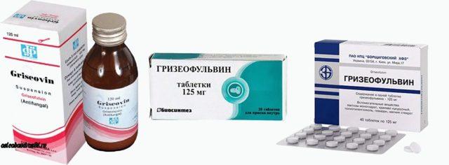 Гризеофульвин – инструкция по применению таблеток, цена, отзывы, аналоги