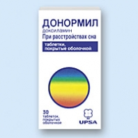 Донормил: инструкция по применению таблеток
