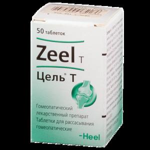 Гомеопатическое средство цель т (zeel t) для лечения остеохондроза