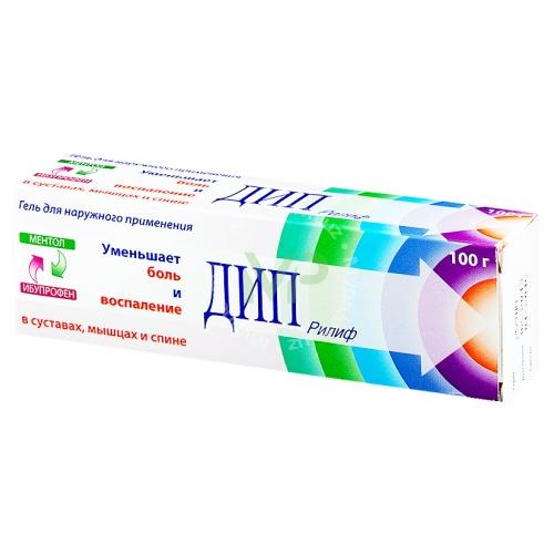 Лекарственный комплекс дип рилиф: фармакологические свойства ибупрофена и левоментола