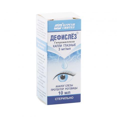 Дефислез глазные капли. отзывы, инструкция по применению, аналоги