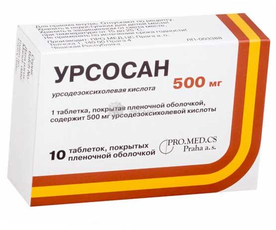 Урсосан - инструкция по применению. показания к приему таблеток и капсул урсосан, аналоги с ценами и отзывами