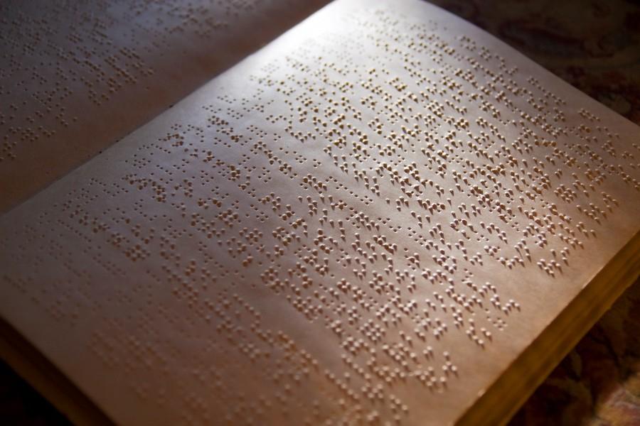 Алфавит брайля для слепых