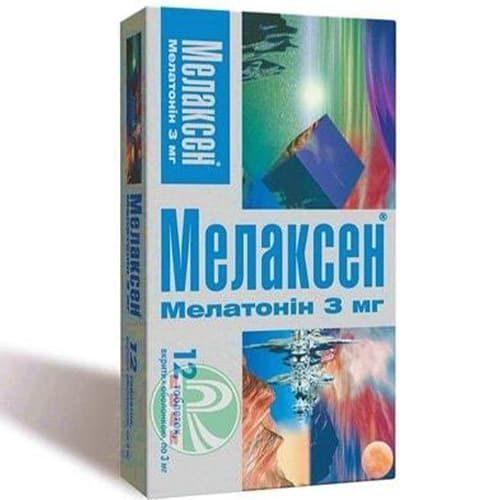 Мелаксен. инструкция по применению, отзывы пациентов, цена, аналоги