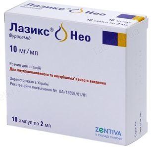 Фуросемид инструкция по применению (таблетки)