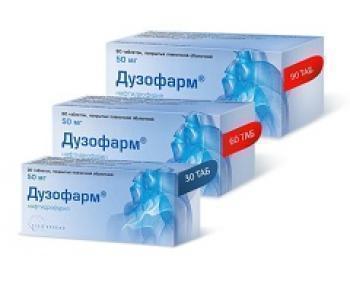 Дузофарм: инструкция к таблеткам, показания, противопоказания, отзывы
