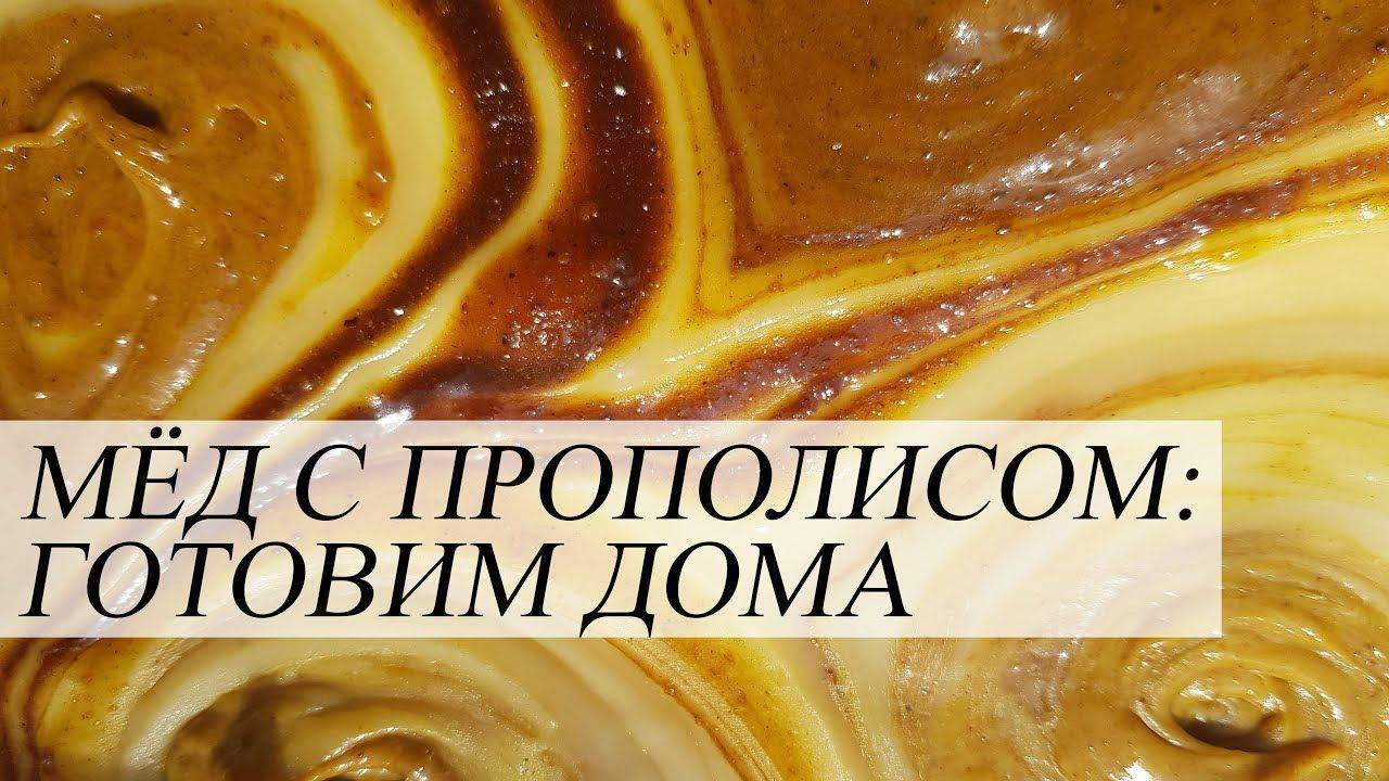 Лечение бронхита прополисом с маслом