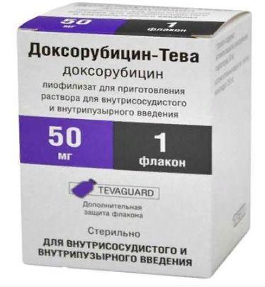 Доксорубицин, или «красная химиотерапия» рака молочной железы: показания, дозы и режим введения, побочные действия