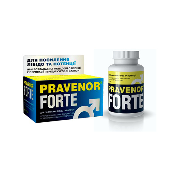 Правенор форте – эффективный препарат для усиления либидо и потенции