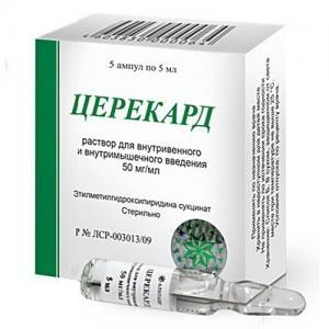 Инструкция по применению препарата церекард