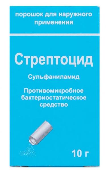 Стрептоцид: инструкция по применению, аналоги, отзывы, цена