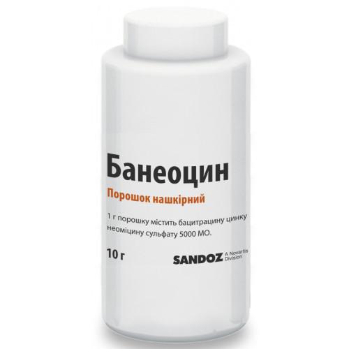 Инструкция по применению антибактериальной мази банеоцин