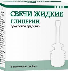 Как быстро действуют свечи с глицерином: инструкция по применению