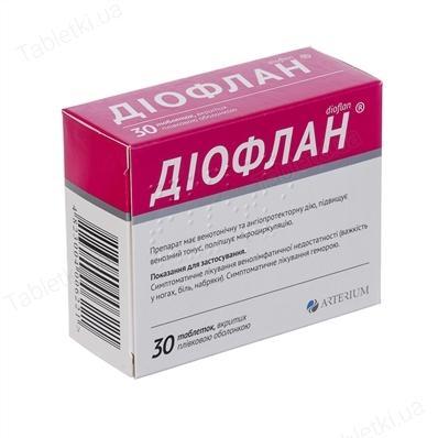 Таблетки от варикоза диофлан