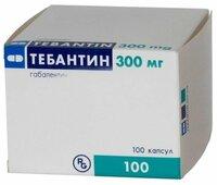 Тебантин − инструкция по применению капсул, отзывы, аналоги, цена