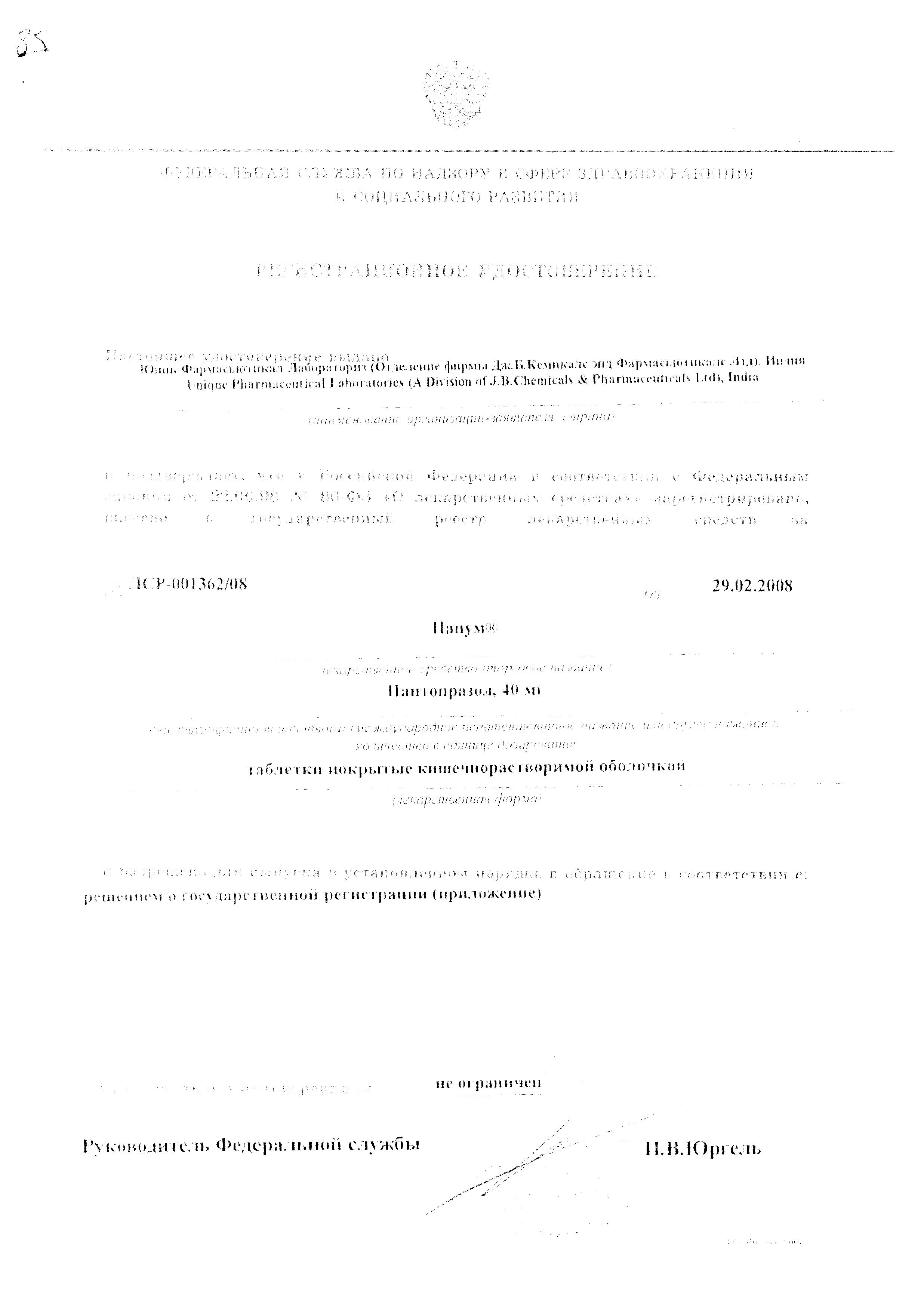 Панум: инструкция по применению и аналоги