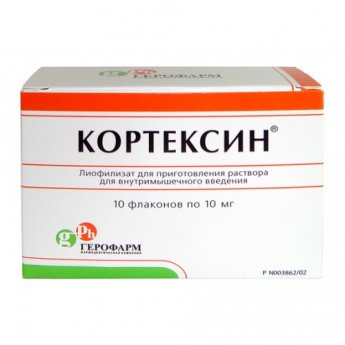 Кортексин: инструкция по применению для взрослых и детей, уколы и таблетки