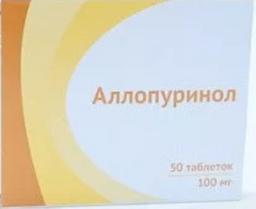 Аллопуринол: таблетки 100 мг и 300 мг эгис