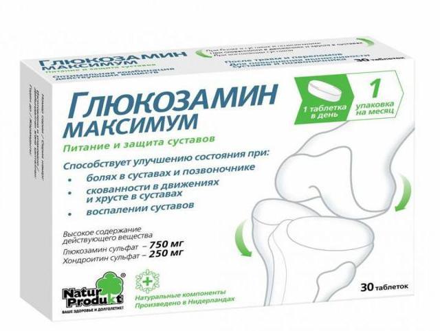 Комплекс глюкозамин-хондроитин для лечения суставов и позвоночника