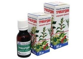 Трикардин — инструкция по применению, цена
