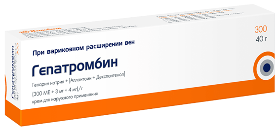 Аналоги ректальных свеч гепатромбин г
