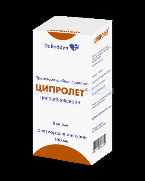 Ципролет – концентрат, раствор, таблетки