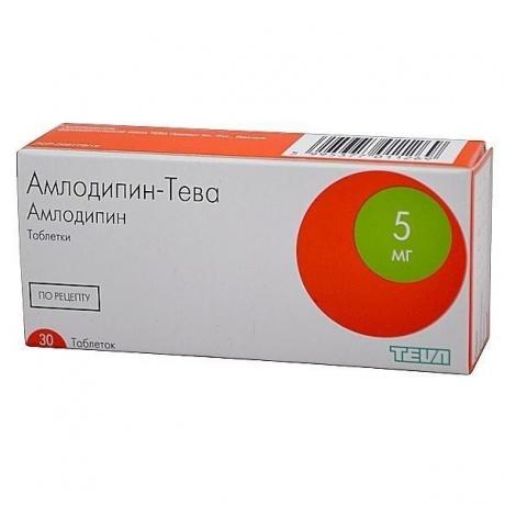 Амлодипин (норваск, нормодипин)
