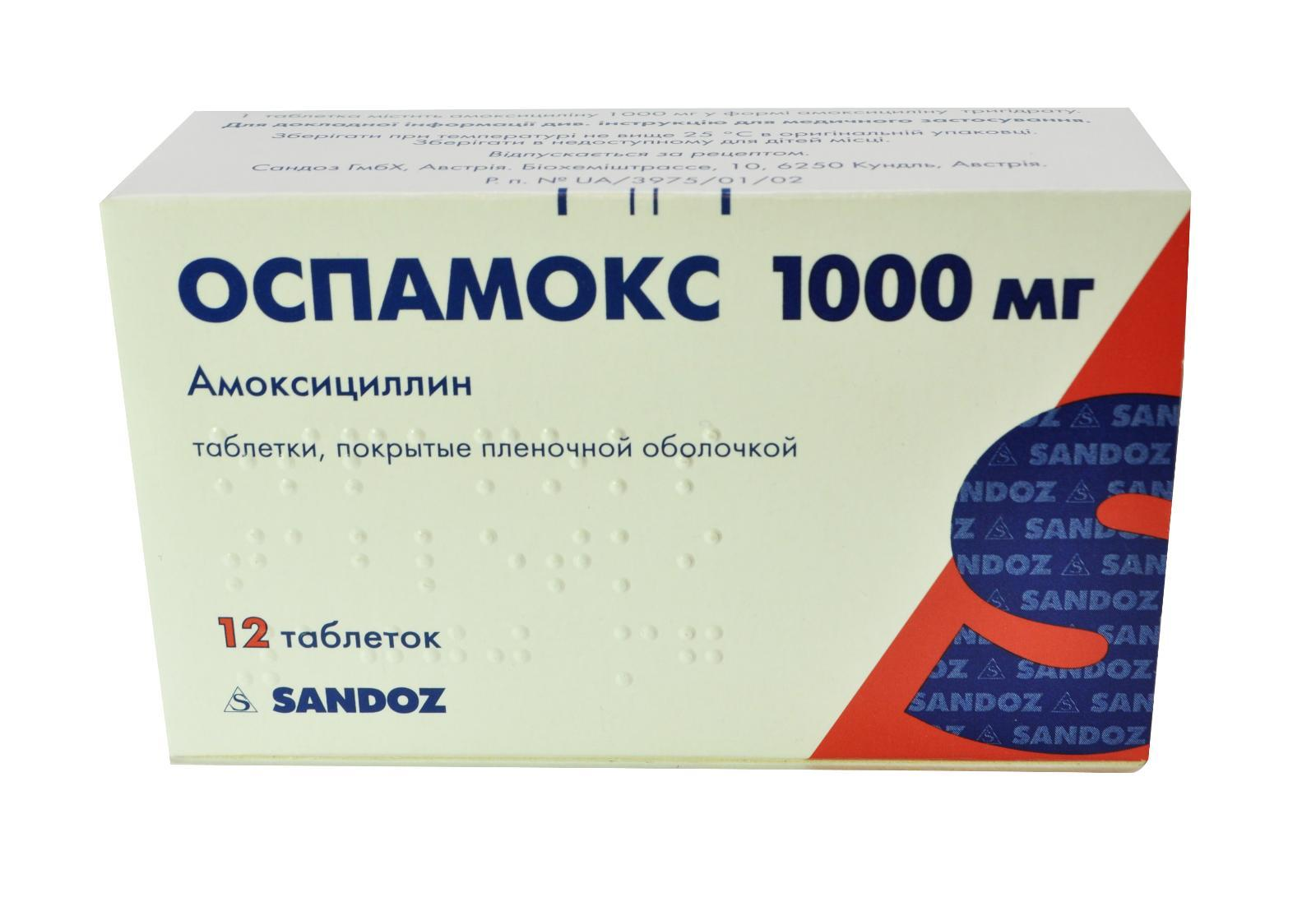 Как правильно использовать препарат амоксициллин 1000?