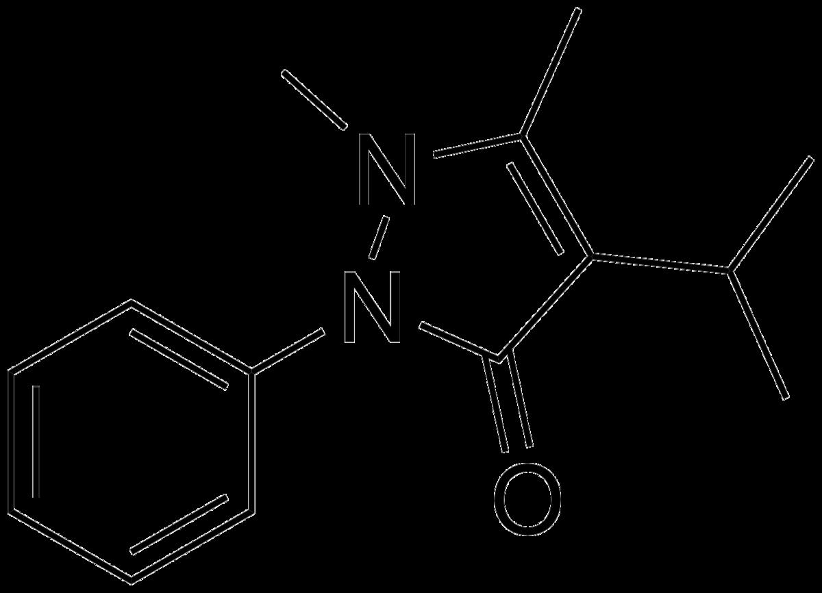 Феназон, действующее вещество