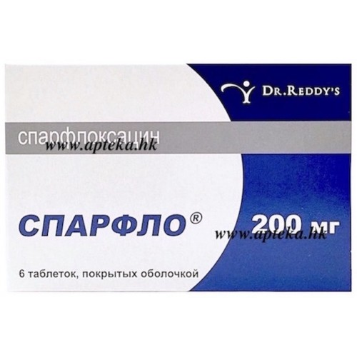 Спарфлоксацин: доказанная эффективность, спорная безопасность