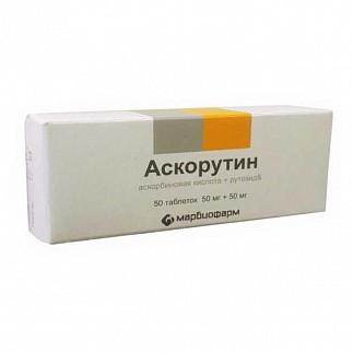 """""""аскорутин"""": инструкция по применению, показания, состав, дозировка, побочные действия и противопоказания"""